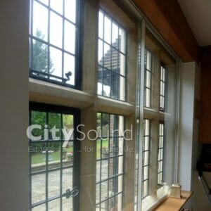 City Sound Secondary Glazing Horizontal Sliding Windows Photos