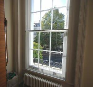 City Sound Secondary Glazing Sash Chepstow Notting Hill