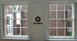 City Sound Secondary Glazing Sash Window St John