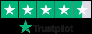 trustpilot 4.5 stars City Sound Secondary Glazing