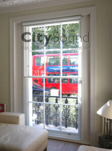 06. Secondary sash windows fitted for thermal insulation and draught exclusion (Notting Hill, London)