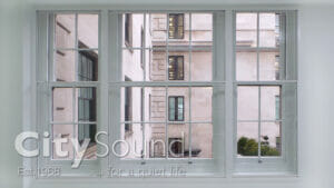 07. Secondary sash windows fitted for a large scale commercial project (Devonshire House, Green Park, London)