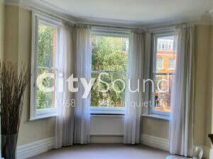 09. Secondary sash windows fitted to period Victorian windows (St Johns Wood, London)