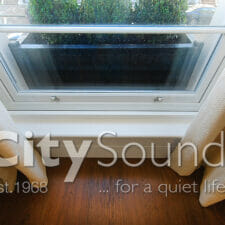 14. Secondary sash windows fitted for noise reduction (London)