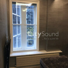 15. Secondary sash windows fitted in a high specifcation refurbishment (Knightbridge, London)