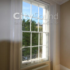 16. Secondary sash windows fitted for thermal insulation and draught exclusion (Notting Hill, London)