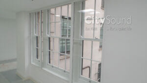 17. Secondary sash windows fitted for a large scale commercial project (Devonshire House, Green Park, London)