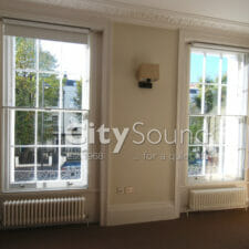 19. Secondary sash windows fitted for thermal insulation and draught exclusion (Notting Hill, London)