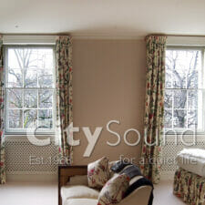 24. Secondary sash windows fitted to these Victorian period windows (Hampstead, London)