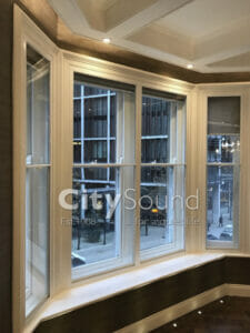 27. Secondary sash windows fitted in a high specifcation refurbishment (Knightbridge, London)