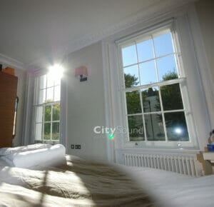 31. Secondary sash windows fitted for thermal insulation and draught exclusion (Chepstow Road, London)