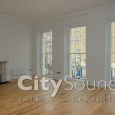 36. Secondary sash windows fitted over period windows (Islington, London)