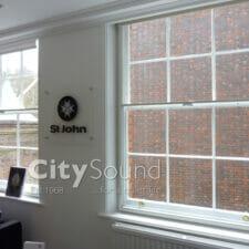 41. Secondary sash windows fitted for St John Ambulance Head quarters (Clerkenwell, London)