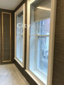 45. Secondary sash windows fitted in a high specifcation refurbishment (Knightbridge, London)