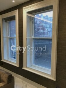 48. Secondary sash windows fitted in a high specifcation refurbishment (Knightbridge, London)