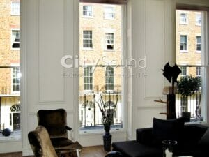 49. Secondary sash windows fitted to period windows (London)