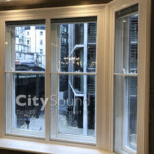 53. Secondary sash windows fitted in a high specifcation refurbishment (Knightbridge, London)