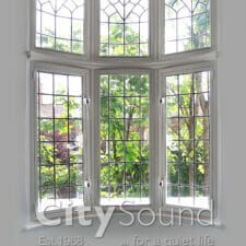 01. Casement (hinge) windows fitted to a bat window; Thermal insulation (Richmond, London)