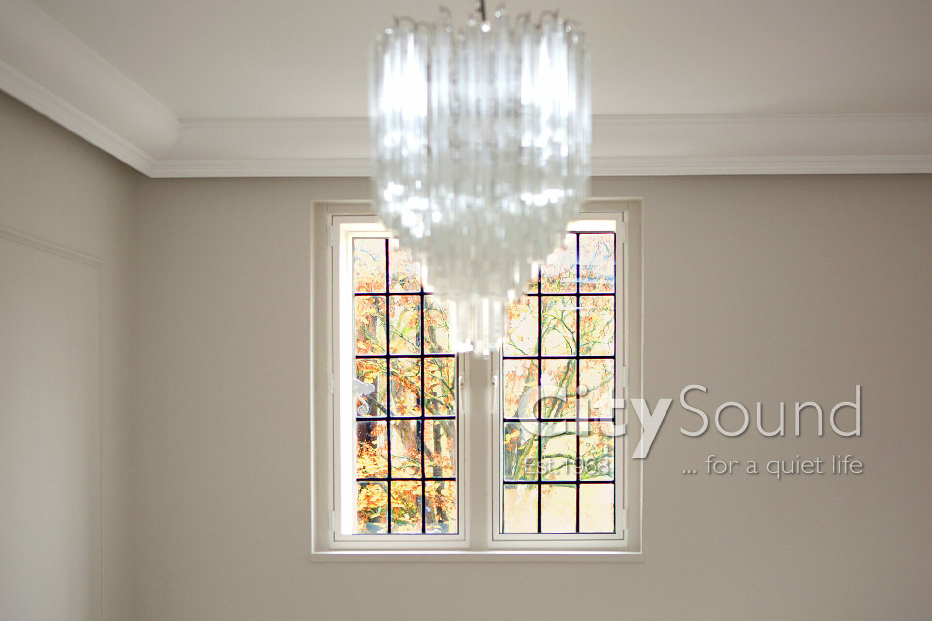 02. Casement (hinged) windows fitted for noise reduction (Islington, London)