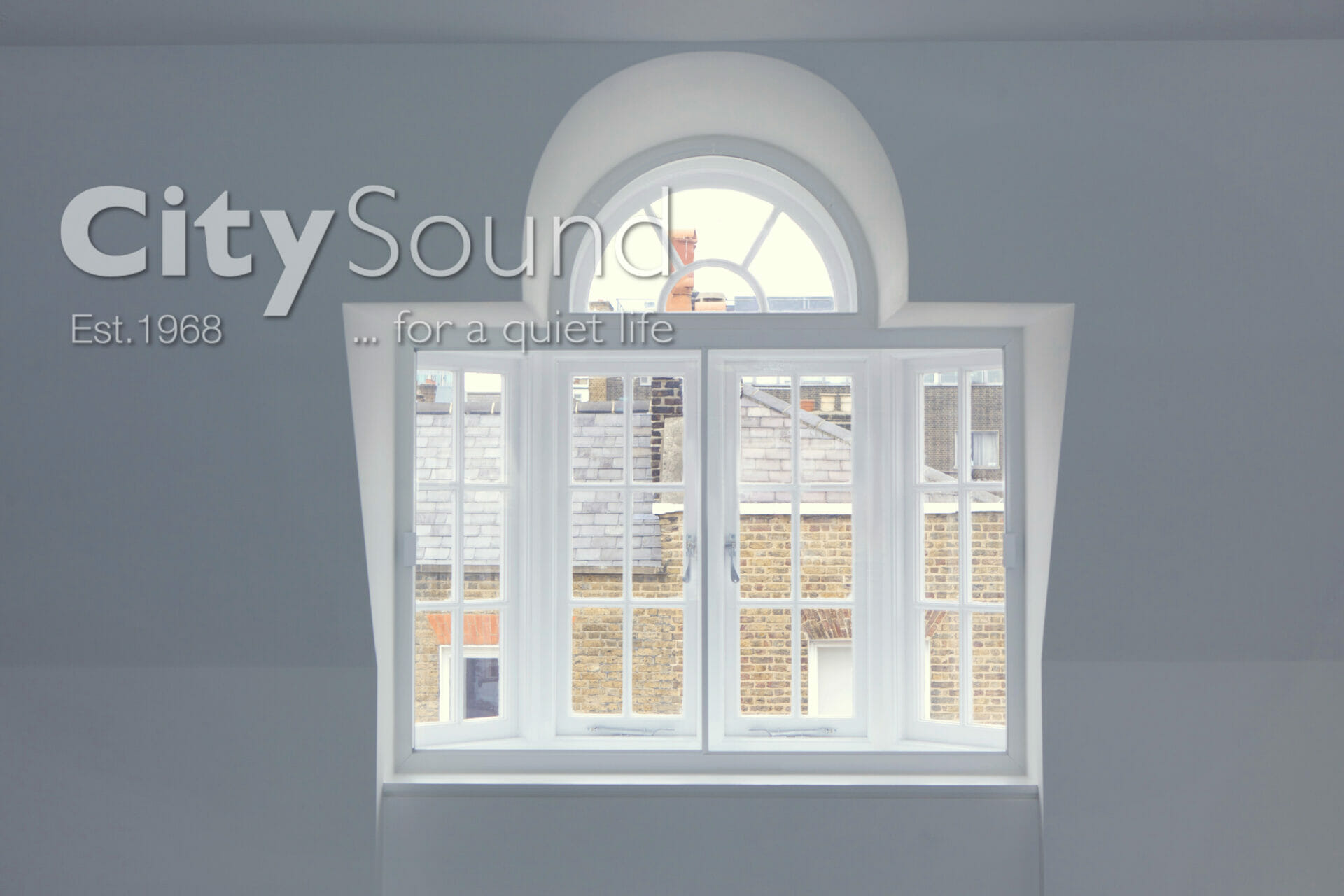 02. Secondary glazing fitted to perfectly mirror the external window. Arched window above to match the design (Central London)