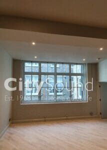 11.1 Secondary sliding windows fitted to cover this large openeing (Convent Garden, London)