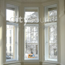 12. Casement (hinge) windows fitted to bay window (London)