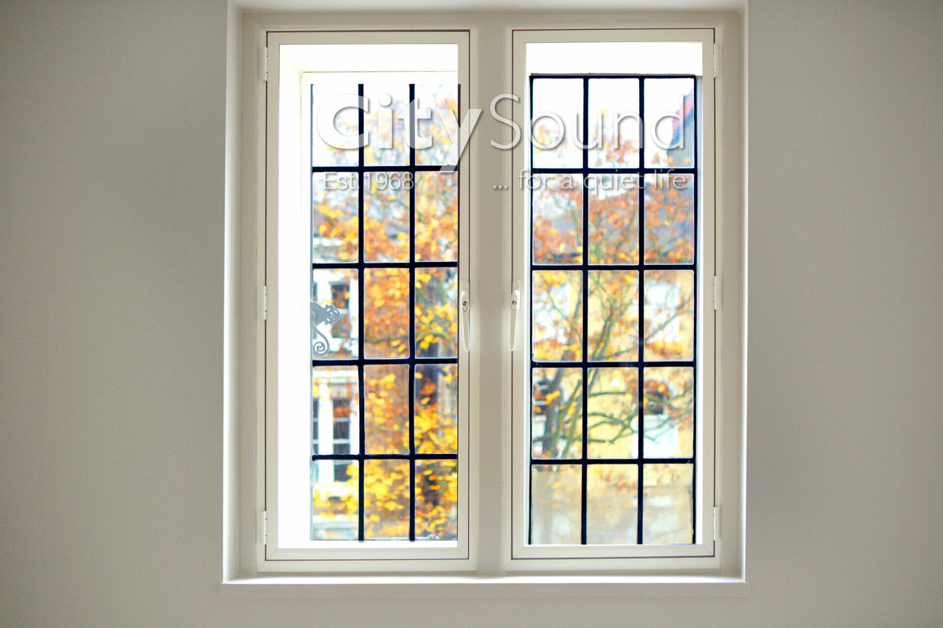 14. Casement (hinged) windows fitted for noise reduction (Islington, London) (2)