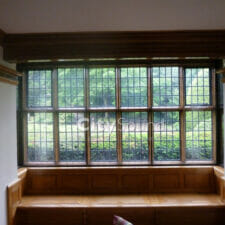 14. Sliding windows fitted to a Grade II listed house; Thermal Insulation (Kent)