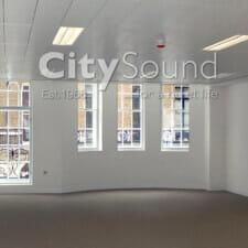 15. Casement (hinge) doors fitting over original balcony doors; Noise reduction (Marylebone, London)
