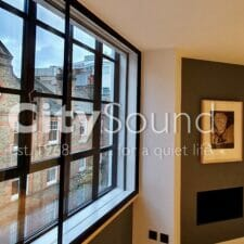 15.1 Secondary sliding window fitted; Noise reduction (Holbirn, London)