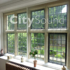 17. Sliding windows fitted to a Grade II listed house; Thermal Insulation (Kent)